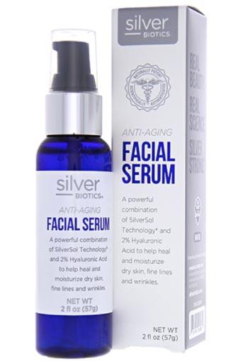 Silver Biotics Anti-Aging Facial Serum
