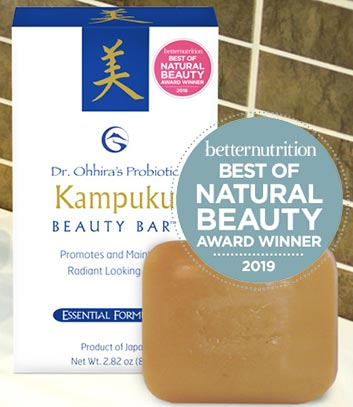 Dr. Ohhiras Probiotic Kampuku Beauty Bar