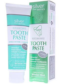 SilverBiotics Whitening Coral Tooth Paste