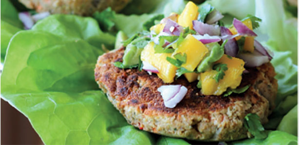 Anti-Inflammation Advantage of Protein Veggie Patties