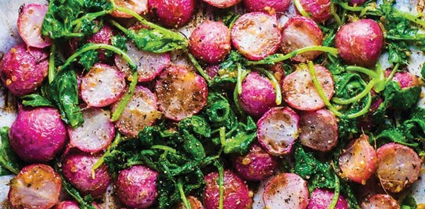 Herb-Infused Roasted Radishes Recipe