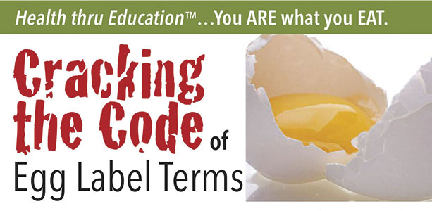Cracking The Code Of Egg Label Terms